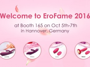 SVAKOM, an International Brand of Sexual Stimulators, Is Attending EroFame 2016 at Hannover, Germany
